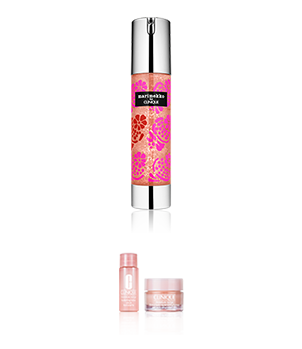 CLINIQUE X marimekko MS HYDRA SUPER CONCENTRA New Year Edition virtual set